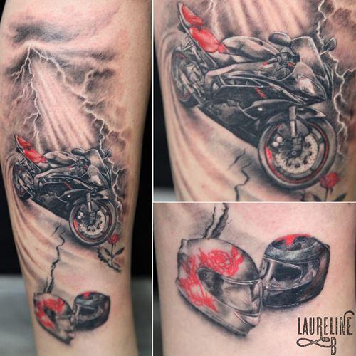 Tatouage Homme Moto Tatouage