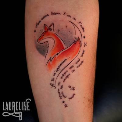 Tatouages Graphiques Aquarelle Laureline B Tattoo 95 Tatoueuse Magny En Vexin 95 Val D Oise