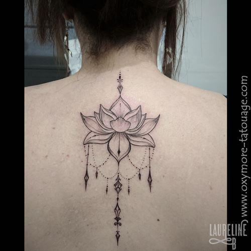 Tatouage Lotus Affordable Ajout Le Par Dans Art Nouveau With